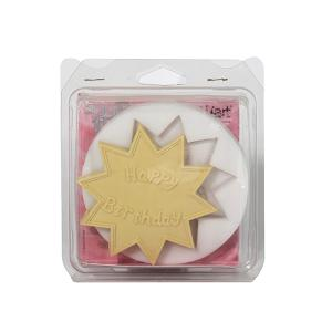 STAMPO DECORATIVO SUGARFLEX HAPPY BIRTHDAY IN SILICONE cm.10